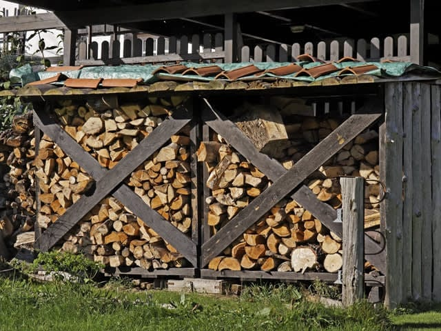 De juiste opslag voor brandhout
